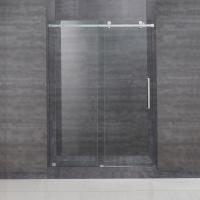 Buy cheap Frameless Frame Style hinged glass door australian sliding shower door with tempered glass from wholesalers
