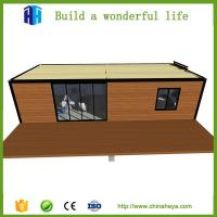 Buy cheap low cost prefabricated used metal luxury steel structure container house living quarter for sale from wholesalers