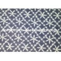Buy cheap Garment Polyester Geometric Sewing Lace Fabric Square Snow Pattern 1.35M from wholesalers
