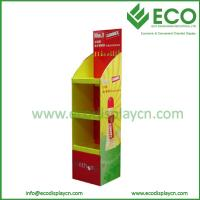 Buy cheap Promotional POP Up Floor Cardboard Booth Display Stands for Pigment from wholesalers