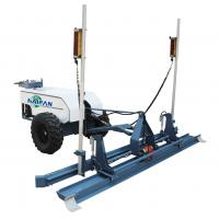 Buy cheap China best price two tyres laser screed concrete machine for sale from wholesalers