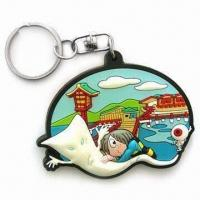Buy cheap Fancy Keychain, Customized Logos, Patterns, Designs and Sizes are Accepted from wholesalers