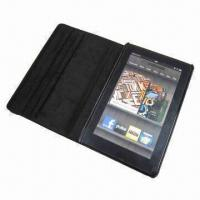Buy cheap Green 360° Rotating Cover Leather Case for Kindle Fire, /Wholesale price from wholesalers