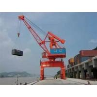 Buy cheap 103 KW 72 t 6 - 14 m portal boom Bench PLC control gantry Crane specification from wholesalers