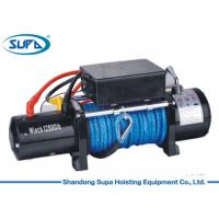 Buy cheap Waterproof Electric Winch Hoist 4 Way Roller Fairlead IP67 Degree Sealed from wholesalers