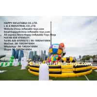Buy cheap Gigantic art zoo inflatable amusement park , customized inflatable bouncer toys from wholesalers