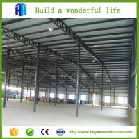 Buy cheap Steel structural steel frame workshop / prefab steel structures from wholesalers