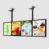 Buy cheap Free Standing Advertising Backlit LED Light Box With Built - In High Power Strips And Driver from wholesalers