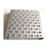 Buy cheap Traction Tread Aluminum Grip Strut Grating With Round Hole For Platforms Walkway from wholesalers