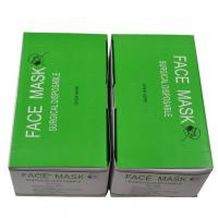 Buy cheap Medical disposable face mask for hospital 3 ply earloop face mask manufacturer from wholesalers