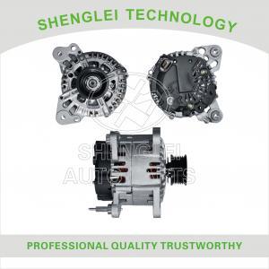Buy cheap Aluminum Volkswagen Car Alternator , OEM VW Golf 1.6 Series Car Generator product