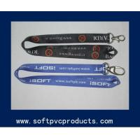 Buy cheap Multi Color Personalized Tube Polyester Lanyards , Single Layer Strap / Neck Lanyard from wholesalers