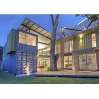 Buy cheap Metal Steel Container Box Houses , Shipping Container Home Construction from wholesalers