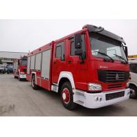Buy cheap Water Tank Fire Fighting Vehicles 8-12 CBM 290 HP Emergency Rescue Vehicles from wholesalers