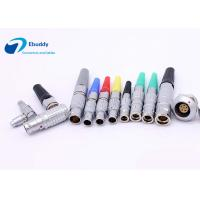 Buy cheap Lemo B series compatible connectors FGG FHG EGG 0B 1B 2B 3B straight and right angle from wholesalers