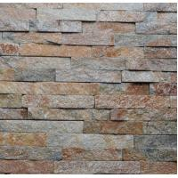 Buy cheap rusty slate linears panels cultured stone stacked stone veneers ledged stone wall cladding decorations tiles from wholesalers