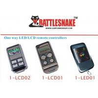 Buy cheap one way  LED / LCD remote  car alarm remote controllers one way LED /LCD remote from wholesalers