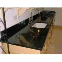 Buy cheap Granite Countertop,Absolute Black Material, Popular for Countertop,Vanity Top,Table Top from wholesalers