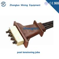 Buy cheap Multi-Holes Anchorage|Post - tensioned prestressed anchors for concrete bridge construction post tension anchor from wholesalers