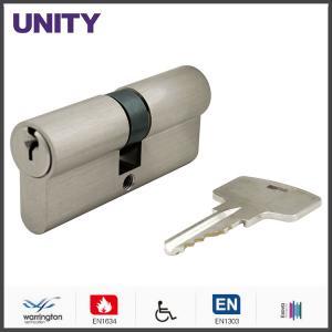 Buy cheap OEM Brass Mortice Lock Cylinder EN1303 Master Key EN1634 Fire Test product