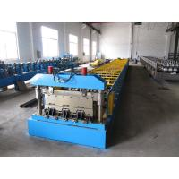 Buy cheap Galvanized Steel Sheet Floor Deck Roll Forming Machine 12-16 m / min Processing Speed product