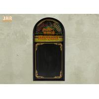 Buy cheap Wooden Wall Hanging Restaurant Menu Boards Decorative Framed Chalkboards from wholesalers