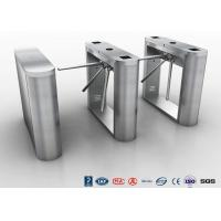 Buy cheap Bi - Directional Tripod Turnstile Gate Security Half Height Turnstile access system from wholesalers