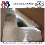 Buy cheap Double Side FSK Foil Scrim Kraft Paper Facing from wholesalers