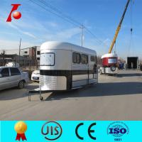 Buy cheap Chinese two horse trailer for sale,3 horse angle load trailer manufacturer from wholesalers