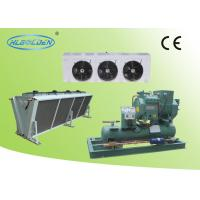 Buy cheap Cold room storage room air cooled Bitzer condensing unit with air cooler from wholesalers