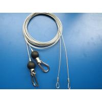 Buy cheap 25mm Nylon Ball Steel Cable Assembly with Swivel Hooks And Loops from wholesalers