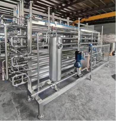 Quality Steam Sterilization Fruit Juice Pasteurizer 2T/H 3T/H SUS316 for sale