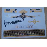 Buy cheap A5 format Metallic Temporary Tattoo for adults swimming suit product