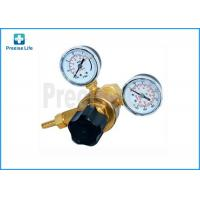 Buy cheap Female 0.96''-14 Argon Gas Welding Regulator 2 Gauge Single Stage from wholesalers