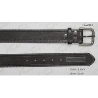 Buy cheap Metal Plate / Snap Button Mens Casual Belts Classic PU Material Founded from wholesalers