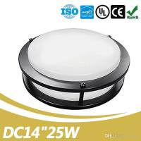 Buy cheap Black Double Ring UL Energy Star Approve Dimmable 14inch 25W Indoor Led Ceiling Light from wholesalers