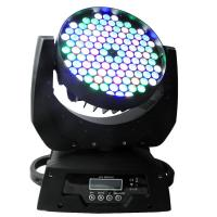 Buy cheap Wedding DJ Moving Head Stage Lights , 108x3w LED Mini Wash Moving Head from wholesalers