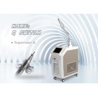 Buy cheap Stationary Q Switch Nd Yag Laser 1320nm , 1064nm Pigment Tattoo spts Removal Machine from wholesalers