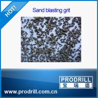 Buy cheap Granite cutting angular steel grit g40 from wholesalers