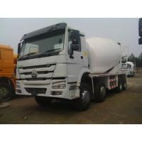 Buy cheap 10cbm 6x4/8x4 Sinotruk HOWO Concrete Mixer Truck , Concrete Batch Truck from wholesalers