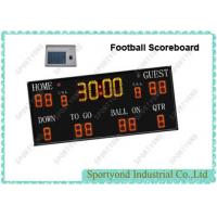 Buy cheap American Football Electronic Scoreboard With Timer and Wireless Remote Controller from wholesalers