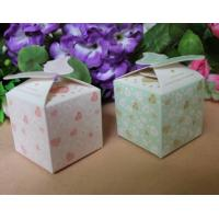 Buy cheap Food Disposable Paper Box Packaging /  Bio - Degradable Corrugated Box For Candy from wholesalers