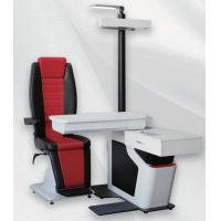 Buy cheap Ophthalmic Unit with Chair Black and Red Leather Chair for Two Instruments Automatic Phoropter from wholesalers