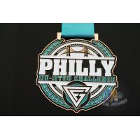 Buy cheap Metal Dancing And running Award Medals for Basketball Sports 85*3mm from wholesalers