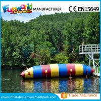 Buy cheap Colorful PVC Inflatable Water Toys Durable Water Jumping Blob Customized from wholesalers
