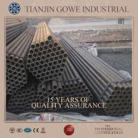 Buy cheap Scaffolding Steel galvanised steel tubes Q235 / Q345  scaffold tube lengths  6m from wholesalers