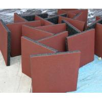 Buy cheap Shock Proof Rubber Floor Tile , Rubber Tile Gym Flooring from wholesalers