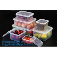 Buy cheap Factory direct sale pp plastic food storage canister set food preservative box,Plastic home usage fresh food storage box from wholesalers