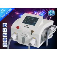 Buy cheap SHR OPT Hair Removal Machine , Multifuntional Double Handle Hair Removal Beauty Machine from wholesalers