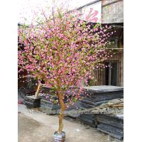 Buy cheap 2m hotel/home indoor decoration artificial bonsai tree/ artificial cherry tree from wholesalers